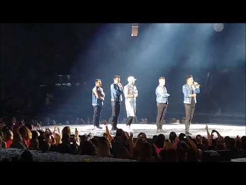 [FAN CAM] NKOTB The Total Package Tour 170620