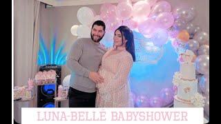 حفلة ال Baby Shower لبنتي Luna-Belle