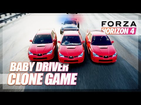 Forza Horizon 4 - Baby Driver Clone Mini Game! thumbnail