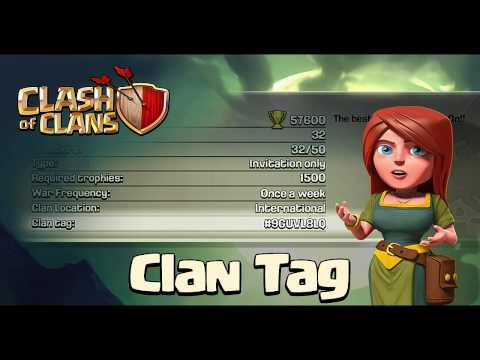 Clash Of Clans - Clan Tag Search Feature!
