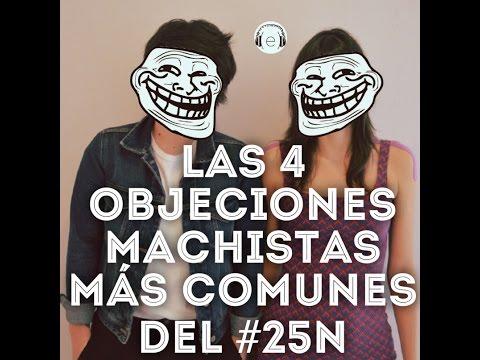 Las 4 objeciones machistas más comunes al #25N