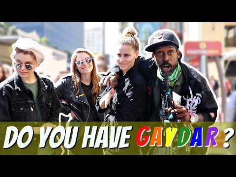 Testing People's Gaydar | Hollywood Blvd |