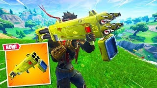 Ninja & Streamers React To *NEW* QUAD ROCKET LAUNCHER IN FORTNITE BATTLE ROYALE