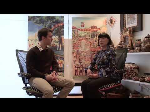 CU@USC Visits Gayle Garner Roski in Her Home