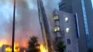 火事久留米通り町2007年7月7日未明 3