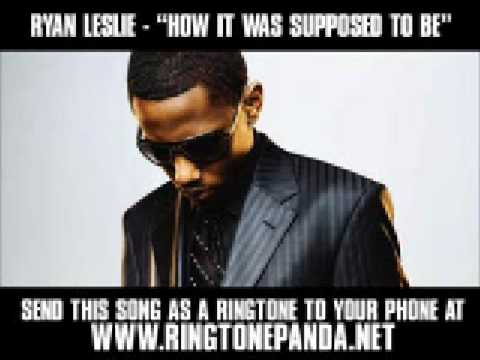 Ryan Leslie - How It Was Supposed To Be [New Video + Lyrics]