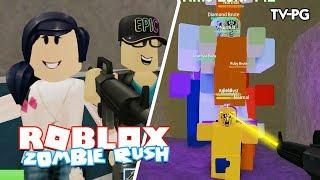 CY VS ZOMBIES | Roblox Zombie Rush