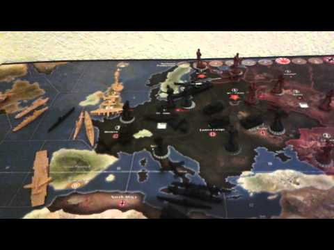 Axis & Allies 1941 - First Round Strategy