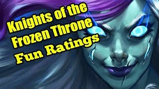 Hearthstone Knights of the Frozen Throne Card Reveal: Rating Cards Based on Fun/Gimmick Level