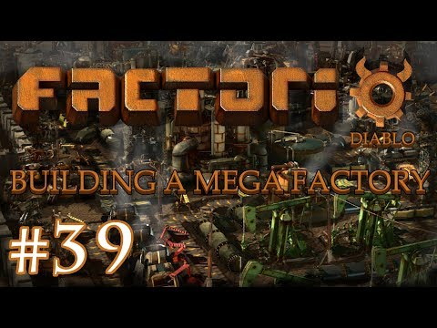 Factorio - Building a Mega Factory: Part 39 finishing the green chips factory