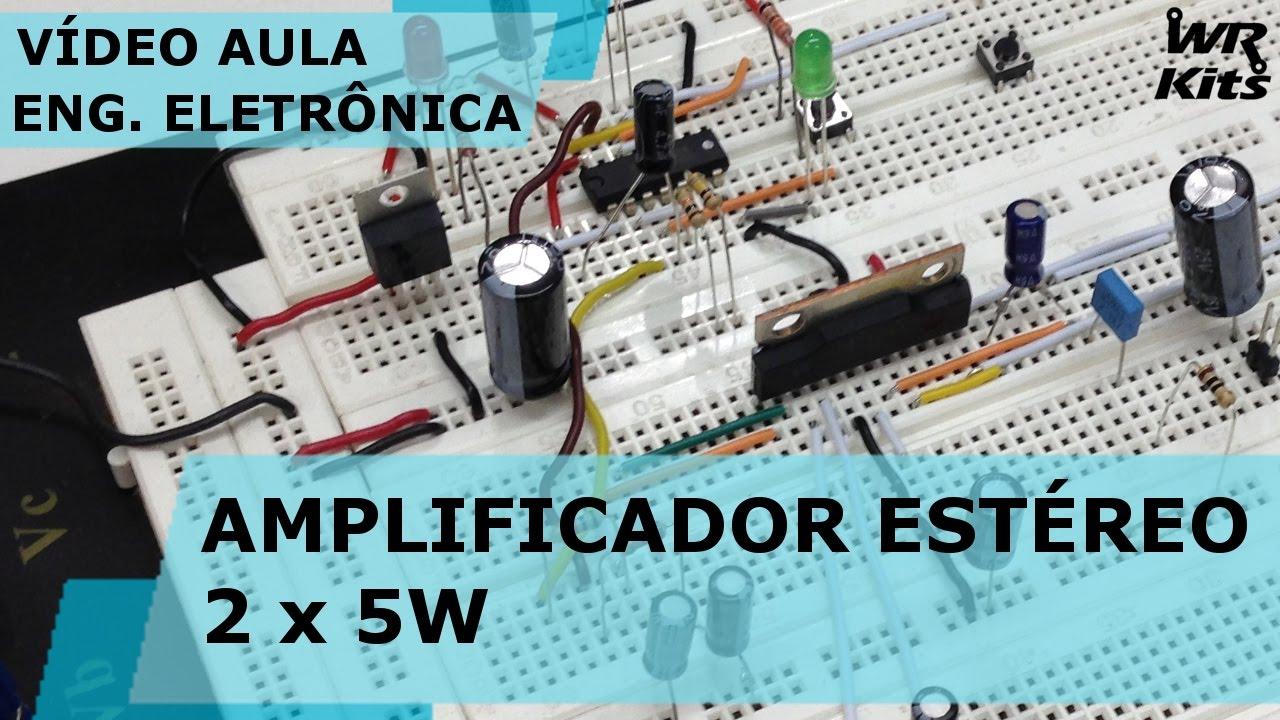 amplificador 5 watts stereo