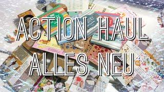 Action Haul #3 Januar 2019 ALLES Neu oder? Motivpapier, Sticker und mehr