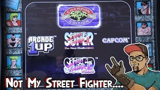 Arcade1UP Street Fighter Cabinet Has Issues.....