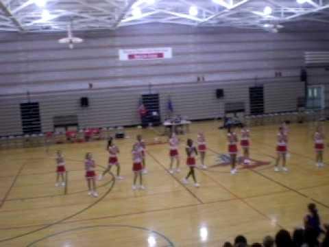 TMSAproductions; PRESENT victoria fertitta middle school cheerleaders, 2007.