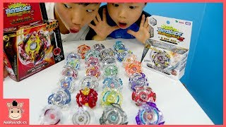 베이블레이드 버스트 갓 팽이 장난감 대결 놀이! 레전드 스프린건 승자는? ♡ 신제품 beyblade burst kids spinner toys |말이야와아이들 MariAndKids
