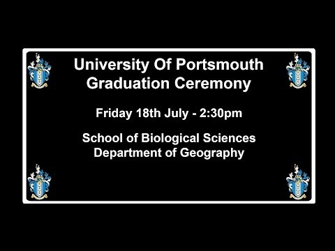 Graduation 2014, Department of Geography School of Biological Sciences