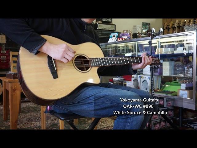 【SP店】Yokoyama Guitars OAR-GB #897 & OAR-WC #898
