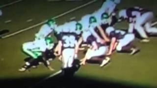 Big hits 8th grade football