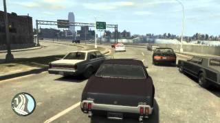 GTA 4 / Just Driving Around / Gameplay 1080p HD