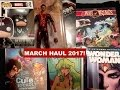 Comic Book Haul March 2017