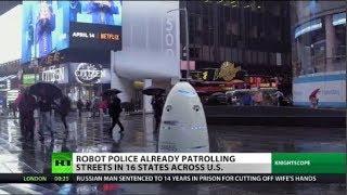 Real Robocop Patrolling NY Streets?