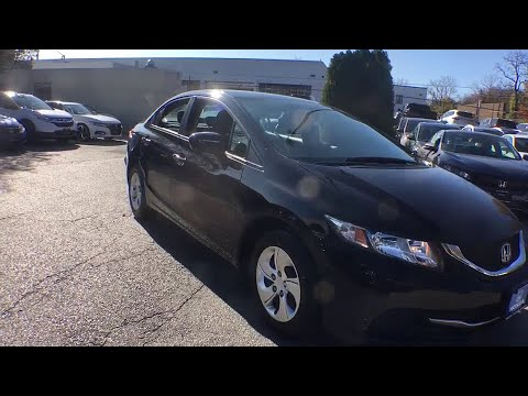 2015 Honda Civic White Plains, New Rochelle, Westchester, Scarsdale, Greenwich, NY U31317L