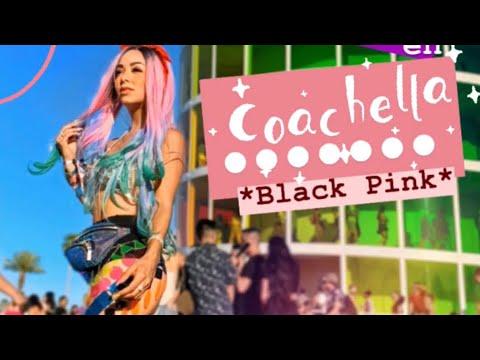 ME GRAB� CADA HORA POR 24 HORAS EN COACHELLA *BLACK PINK* ME PUSE LOCA*