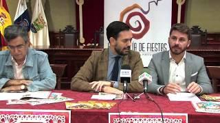 Presentación programa de Navidad y Reyes - Puerto de la Cruz