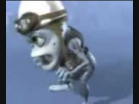 crazy frog slow normal and fast motion