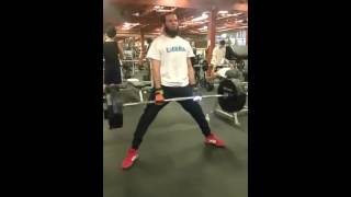 365 lbs deadlift C.walid 24 hours Fitness usa