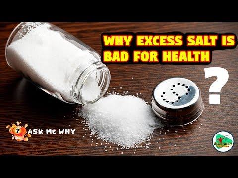 Ask Me Why: Why excess salt is bad for health? (अधिक नमक का सेवन क्यों ख़राब होता है?)