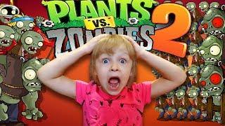 Растения против Зомби 2 НОВЫЙ ЗОМБИ на АРЕНЕ Plants Vs Zombies 2