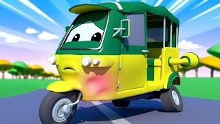 Çekici Tom -  Tuk Tuk Tao'nun Motoru Aşırı Isınıyor! - Araba şehri 🚗 Çocuklar için çizgi filmler