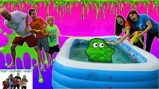 SLIME TUG OF WAR That YouTub3 Family