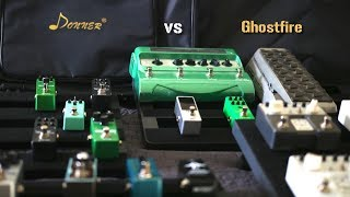 BEST and CHEAPEST PEDALBOARD options on AMAZON!!! (Donner vs Vangoa/Ghostfire)