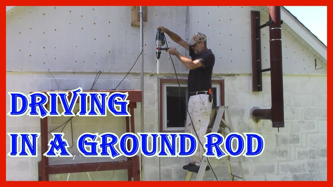 Best, no, easiest way to drive in a ground rod? | QRZ Forums