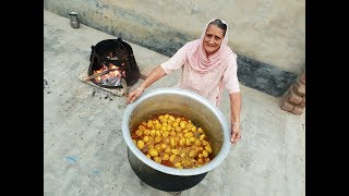 DUM ALOO RECIPE Prepared By My Granny | Kashmiri Shahi Aloo Dum | दम आलू | Potato Curry Recipe