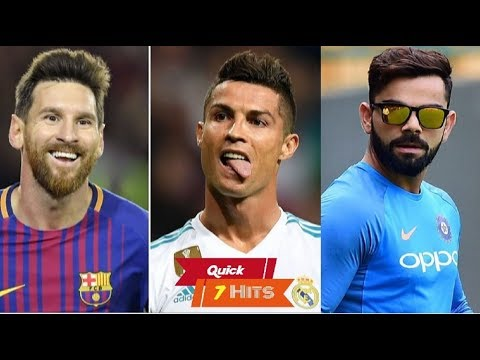 Top 10 most valuable athletes (2017) by Forbes