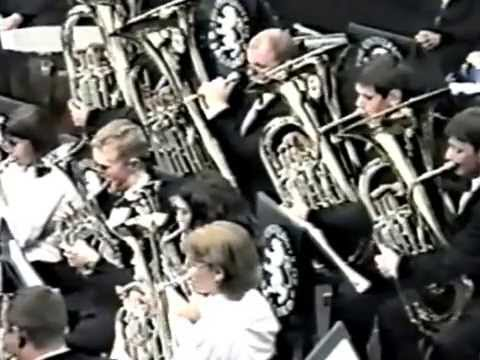 Salford University Brass Band 1996, Sao Paulo Opera House, Brazil