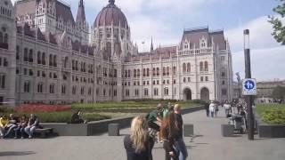 Набережная Будапешта, Парламент.