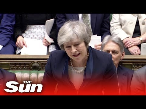 Theresa May's final speech to Parliament moments before Brexit deal vote