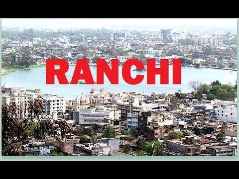 Flight Take off from Ranchi Airport & Aerial view of Ranchi / रांची हवाई  दर्शन