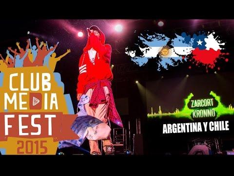 Que risas en Argentina y Chile!! :D | Club media fest 2015 - KRONNO ZOMBER