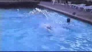 S CLUB 7 - Paul,Hannah,Jon,Brad in pool