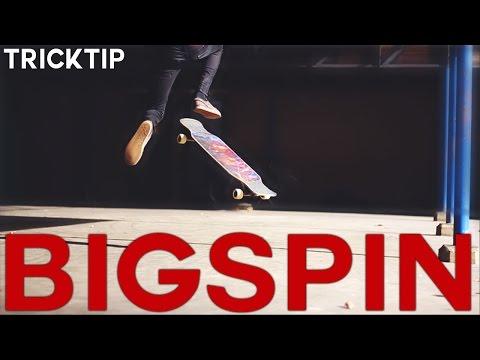 LONGBOARD TRICK TIP | Bigspin