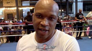 """DERRICK JAMES """"THE WAY ERROL IS THROWING THOSE PUNCHES..I DOUBT IT GOES 12!"""""""