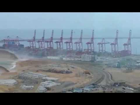Port city project  destruct the nature in Sri Lanka
