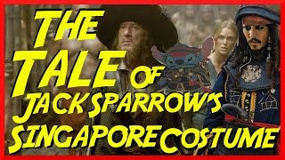 The Tale of Jack Sparrow's Singapore Costume