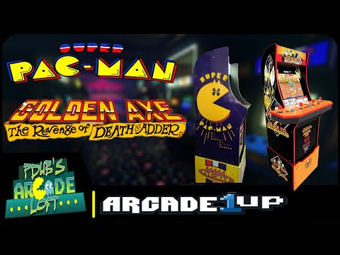 Arcade1Up Costco Super Pac-Man Fix Coming Soon and Golden Axe Trailer! from PDubs Arcade Loft