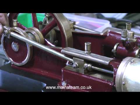 PART #8 - RENOVATING A MODEL TANGYE TWIN CYLINDER STEAM ENGINE